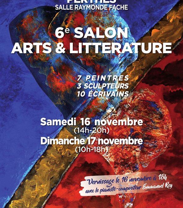 Salon des Arts et de la Littérature de Perthes-en-Gâtinais – 16 et 17 novembre 2019
